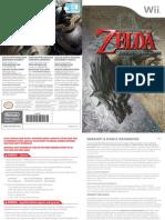 Zelda TP user manual Wii