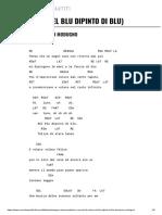 VOLARE (NEL BLU DIPINTO DI BLU) Accordi 100% Corretti -Domenico Modugno.pdf