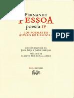 Fernando Pessoa_ Juan Barja_ Juana Inarejos_ Alberto Ruiz de Samaniego - Poesía IV. Los poemas de Álvaro de Campos 2-Abada Editores (2012)