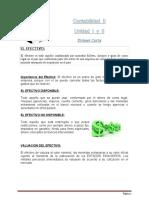 contabilidad II el efectivo