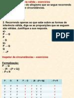 proposições exercícios 2