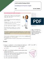 Ficha- Generalização Da Noção de Ângulo 11º Cont 11º TCOM