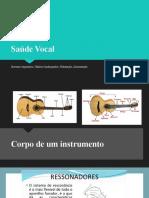 Saúde Vocal