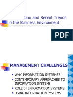 Globalisation and Recent Trends in the Business Environment
