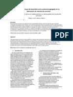 ARTICULO-Uso de cenizas de biosolidos como potencial agregado en la fabricación de mezclas de concreto y ladrillos de hormigón