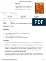 Roasted Butternut Squash - Minimalist Baker