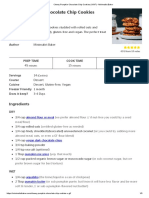 Chewy Pumpkin Chocolate Chip Cookies (V_GF) - Minimalist Baker