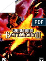 Warlords Battlecry III Manual English