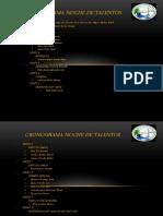 CRONOGRAMA NOCHE DE TALENTOS