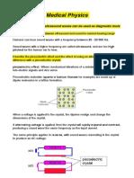 Medical Physics Notes - Physics HSC