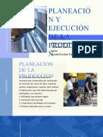 PLANIFICACIÓN Y EJECUCIÓN DE LA PRODUCCIÓN