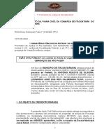 Inicial -Ação Civil Pública com pedido de Tutela de Urgência, cumulado com OBRIGAÇÃO DE NÃO FAZER.pdf