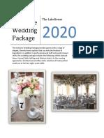 Wedding All Inclusive Menu 2020 Lakehouse.pdf