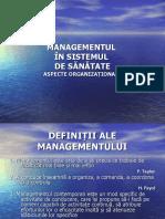 MANAGEMENTUL Slaide