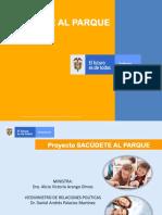Presentacion SACÚDETE AL PARQUE 2020
