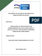 2. DOCUMENTOS DE CALIDAD_ANCLAJES PARA TRANSFORMADOR ZIG-ZAG