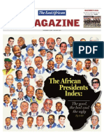 Africa Presidents' Index[1]