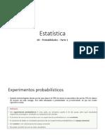 04 – Probabilidades