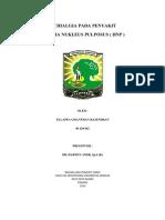 Case Report Session (HNP)