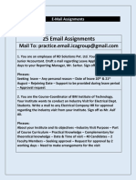 Email-Assignments