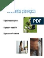 Tratamientos psicológicos