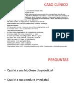 CASO CLÍNICO - DM apresentação
