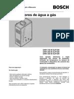 ManualdoAquecedoraGás-GWH160250325BV.12.07