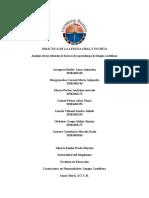 ANALISIS DE LOS ESTANDARES BASICOS DE COMPETENCIAS DEL LENGUAJE.docx