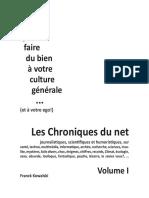 Les Chroniques du Net Vol.1