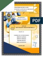 Guía #3 Identidades Trigonométricas-1
