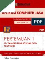 1b- Tahapan Pemprosesan Data Akuntansi