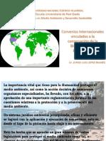 1. Tratados para el medio ambiente