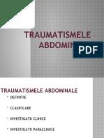 curs 7 Traumatismele abdominale