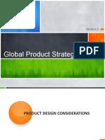 International Product Strategies