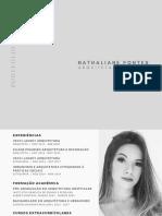 Portfólio Arquitetura e Urbanismo - Nathaliane Pontes