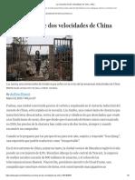 La economía de dos velocidades de China - WSJ