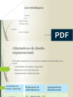 ALTERNATIVAS DE DISEÑO ORGANIZACIONAL 1