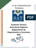 INFORME TECNICO ESTRUCTURA ORGANICA Y ROF (1).doc