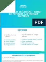 Variables electricas_Flujo de potencia de energía calibrar