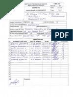 F-SIC-022 - capacitacion P-HCA-052