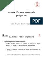 Evaluación económica de proyectos - 1.2 Ciclo de vida.pptx