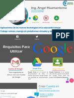 Presentacion Google Drive y Classrroom