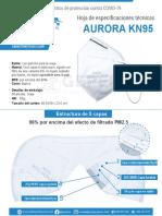 MASCARILLA KN95 AURORA - PYL