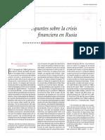 crisis de rusia