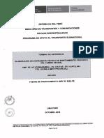 TDR EMP. PE-14C POMABAMBA