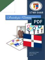 La Sociologia Dominicana REPORTE