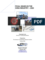 ATRI Top Industry Issues 2020