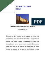 CONSTRUYENDO MUROS ESPIRITUALES