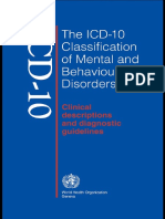 World Health Organization The ICD-10 Classification of Mental and Behavioural Disorders Clinical Descriptions and Diagnostic Guidelines (1).pdf