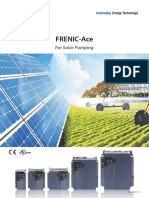 Brochures - FRENIC-Ace for Solar Pumping
